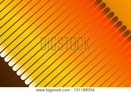 orange abstract background particles and form and spiral