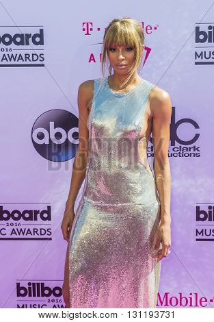 LAS VEGAS - MAY 22 : Host/singer Ciara attends the 2016 Billboard Music Awards at T-Mobile Arena on May 22 2016 in Las Vegas Nevada.