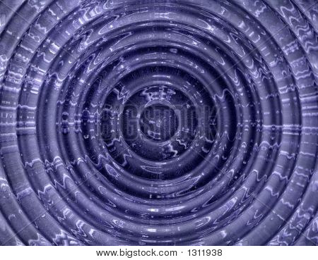 Abstract Hypnotic Blue Background