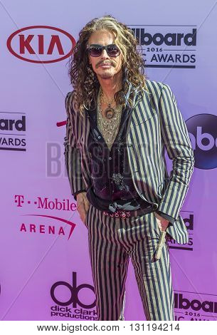 LAS VEGAS - MAY 22 : Singer Steven Tyler attends the 2016 Billboard Music Awards at T-Mobile Arena on May 22 2016 in Las Vegas Nevada.