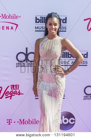 LAS VEGAS - MAY 22 : Recording artist Kelly Rowland the 2016 Billboard Music Awards at T-Mobile Arena on May 22 2016 in Las Vegas Nevada.