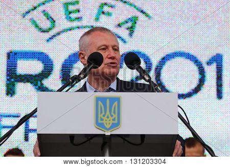 Vice-president Of Uefa Hryhoriy Surkis
