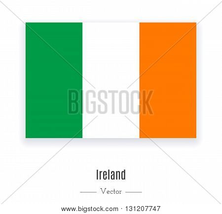 Flag of Ireland. Flag of Ireland vector. Flag of Ireland isolated. Flag of Ireland eps. Flag of Ireland illustration. Flag of Ireland icon. Flag of Ireland ui. Flag of Ireland web. Flag of Ireland ui.