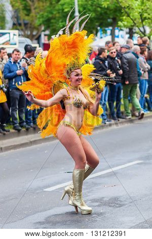Carnival Of Cultures In Berlin, Germany