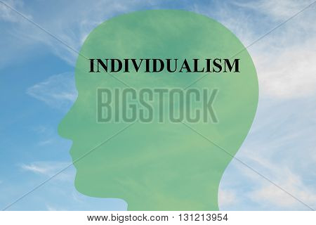 Individualism Mentality Concept