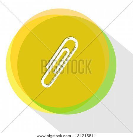 clip. Internet template. Vector icon.