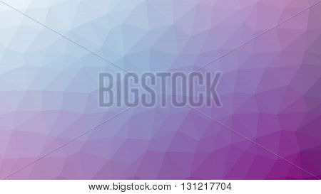vector violet abstract background consisting of low poly triangles.