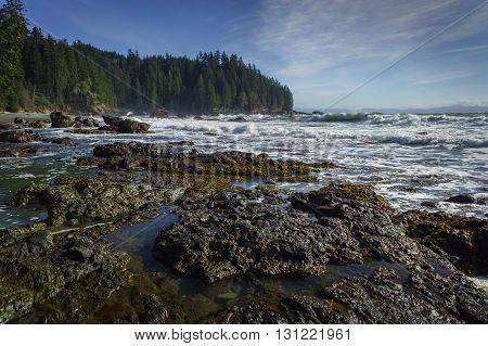 Sombrio Beach Vancouver Island British Columbia Canada