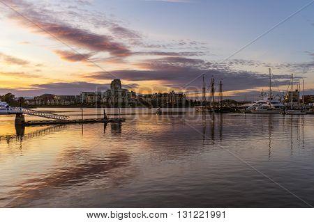 Victoria Inner Harbour, Vancouver Island British Columbia Canada