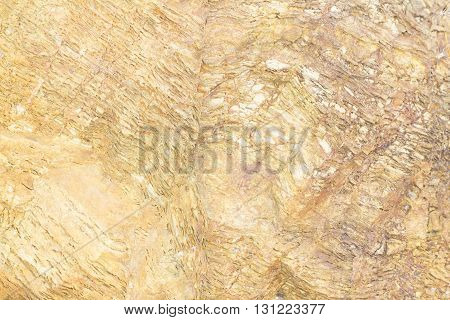 Marble brown water erosion pattern texture background.