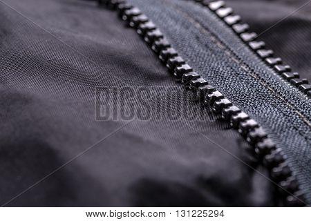 Garment Coat With Zipper