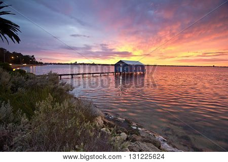 Crawley Boat Shed, Perth in Western Australia