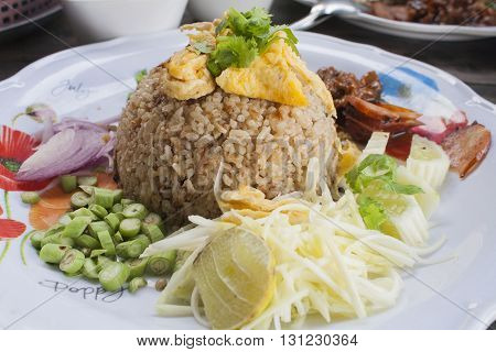 this is thai foods delicious lunch full