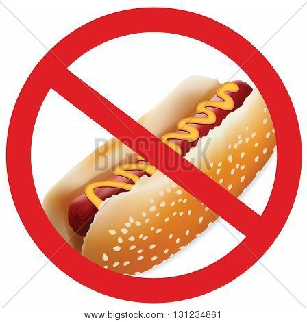 Hot dog for your design, don't eat junk food