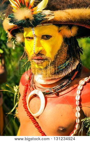 Direct Look In Papua New Guinea