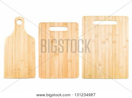 Kitchen Cutting Board Isolated On White Background