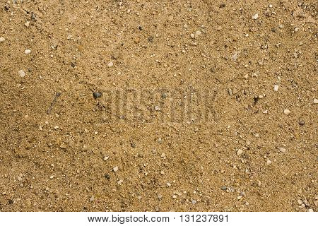 Sand texture with small rocks and particles for a background texture