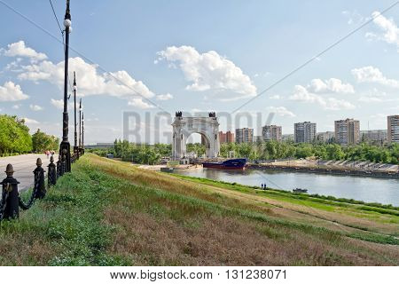 Barge For The Transportation Of Petroleum Products