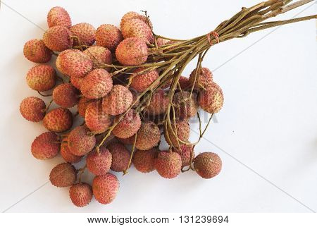 fruit of thailand season object background red yummy