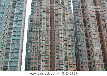 Abstract Modern Architecture  At Hong Kong