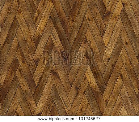 Natural wooden background herringbone grunge parquet flooring design seamless texture for 3d interior