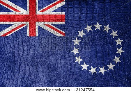 Flag Of The Cook Islands, On A Luxurious, Fashionable Canvas
