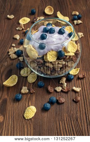 Muesli With Blueberry