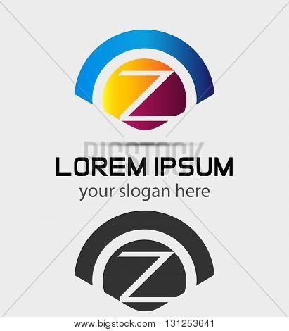 Letter Z Logo Design.Creative Symbol of letter Z