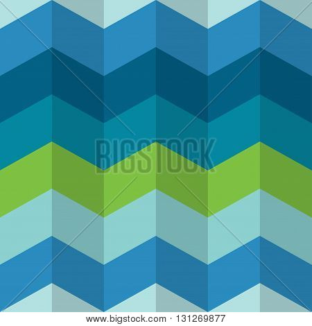 Chevron stripes seamless pattern. Zigzag vector background, wall paper.
