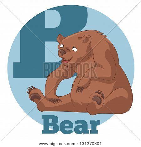 Vector image of the ABC Cartoon Bear3