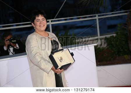 Jaclyn Jose poses  the Palme D'Or Winner Photocall during the 69th annual Cannes Film Festival at the Palais des Festivals on May 22, 2016 in Cannes, France.