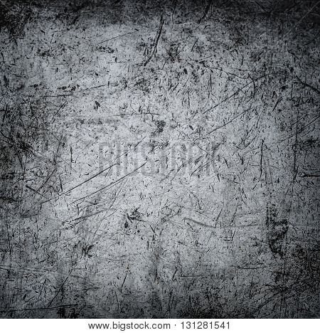 Metal background. Metal grunge old rusty scratched surface texture.