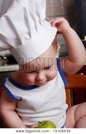 Little cook and food ingredient and foodstuf