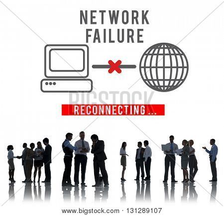 Network Failed Fiasco Stop Loss Inability System Concept