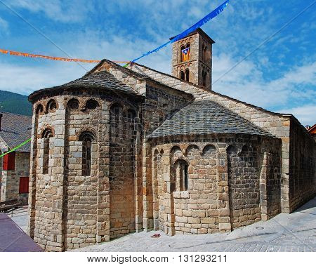 church of Santa Maria de Taull Vall de Boi Alta Ribagorca.