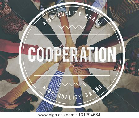 Cooperation Business Support Partnership Collaboration Concept