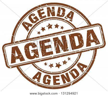 agenda brown grunge round vintage rubber stamp.agenda stamp.agenda round stamp.agenda grunge stamp.agenda.agenda vintage stamp.
