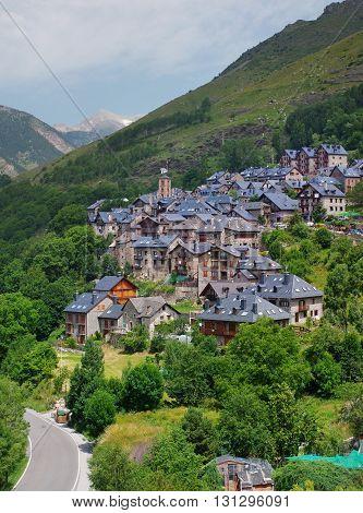 Taull Vall de Boi Alta Ribagorca. Lleida Catalonia Spain