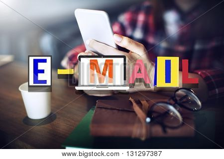 Email Correspondence Communication Online Concept