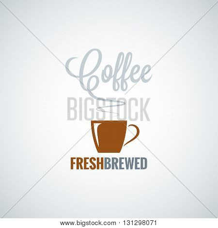 coffee cup flavor design vector background 8 eps
