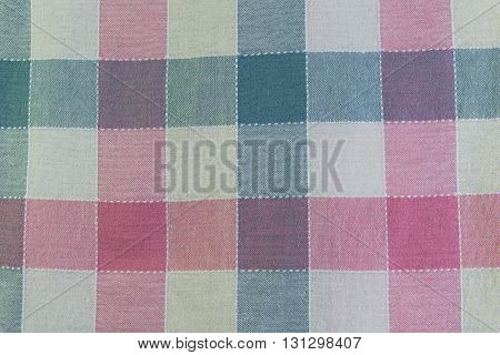 Fabric plaid texture. Cloth background. blanket, abstract, design, wave, colorful