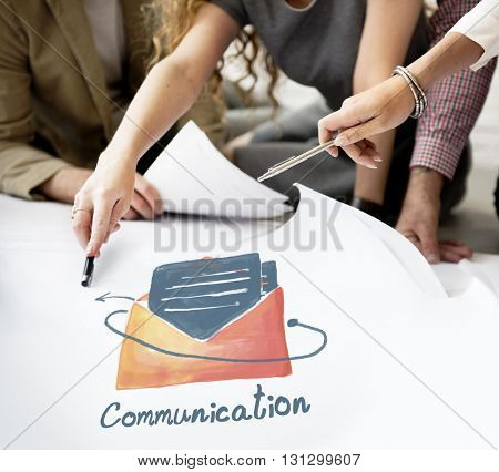 E-mail Communication Connection Online Concept