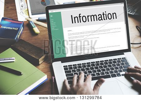 Information Data Interface Website Internet Concept