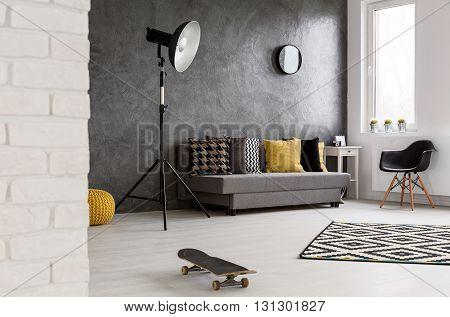 Lounge In Modern Flat