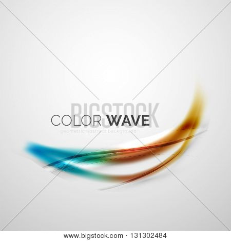 Color wave vector design element
