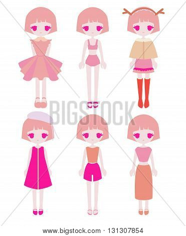 Pink Girl Outfit Set