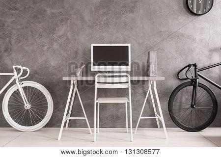 Black Or White Bicycle