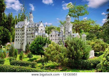 Fantastic old castle: from fairy tale