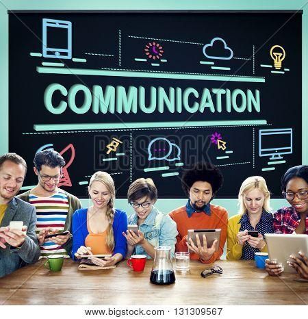 Communication Communicate Conversation Concept