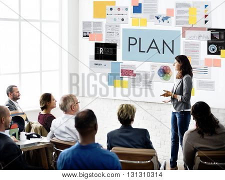 Plan Planning Process Solution Strategy Concept